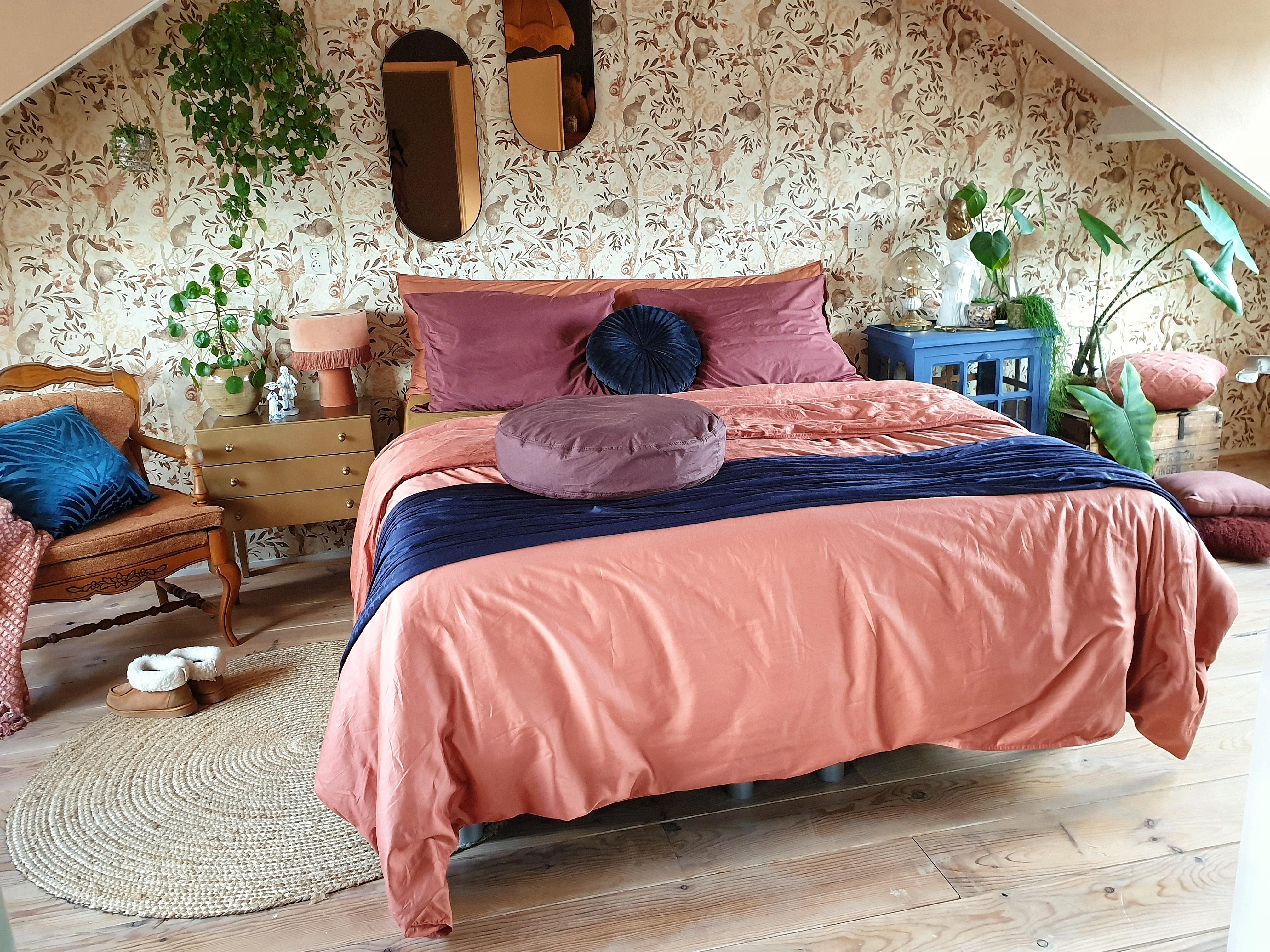 slapen onder luxe beddengoed van SUITE702