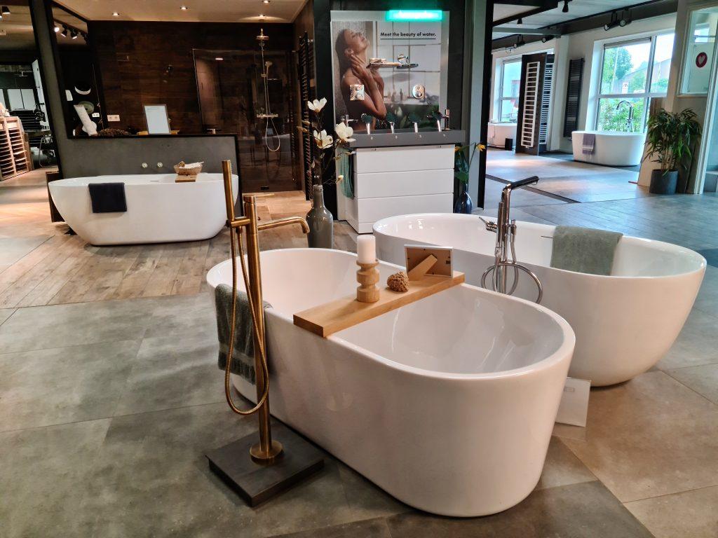 een nieuwe badkamer