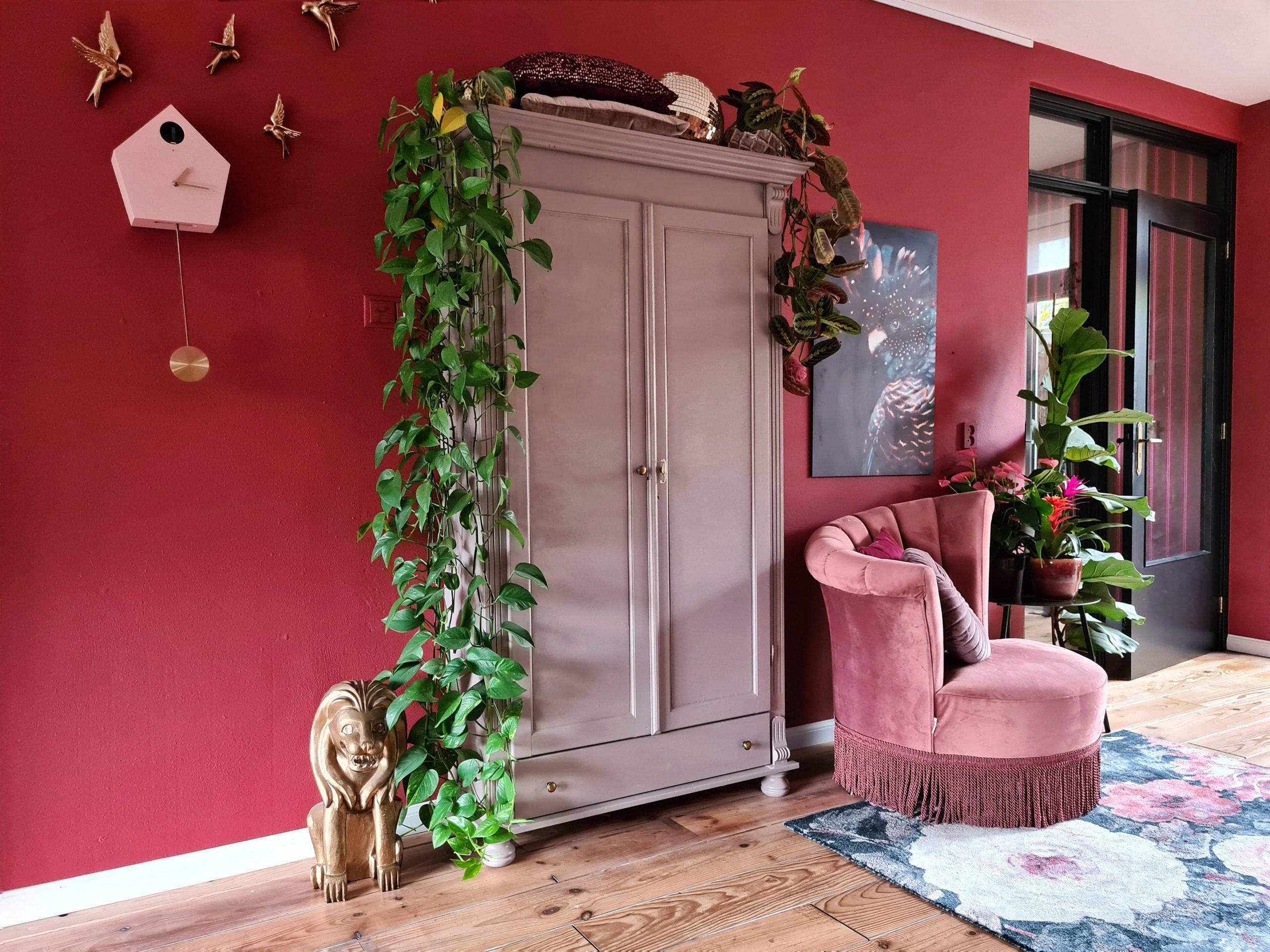 warme kleuren voor de woonkamer