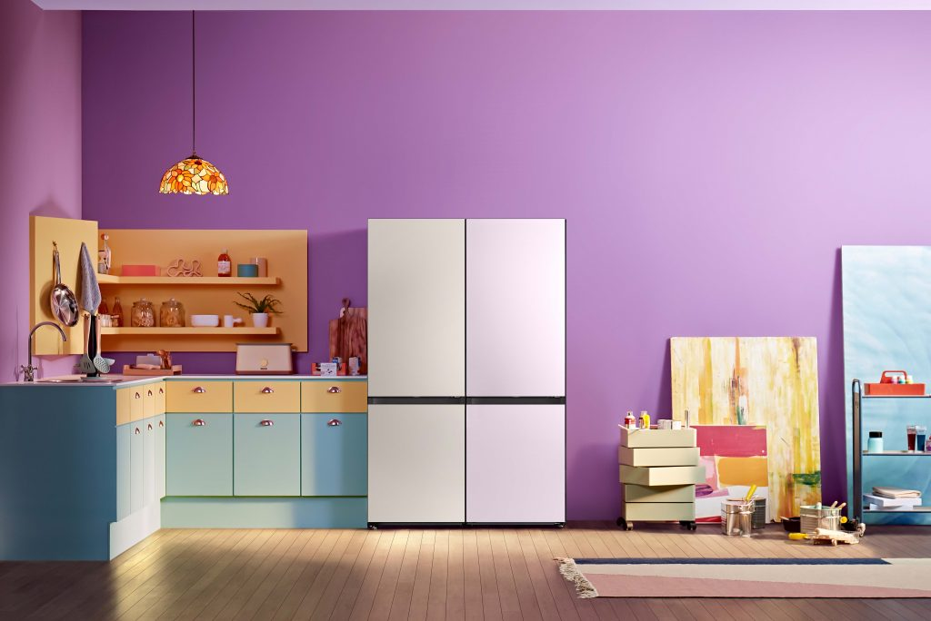 de nieuwe samsung bespoke koelkast